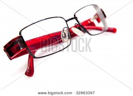 Eye glasses - isolated over a white background