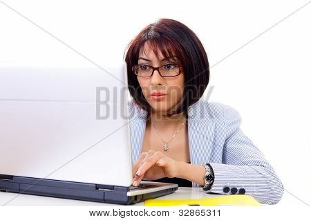 Professional Woman Working