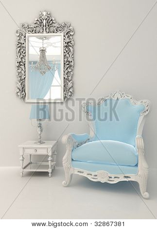 Baroque Furniture In Luxury Interior