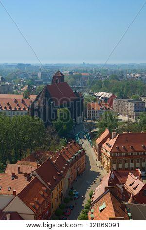 old  Wroclaw, Poland