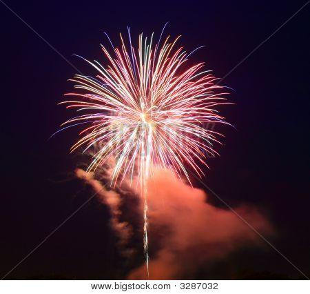 El 4 de julio los fuegos artificiales