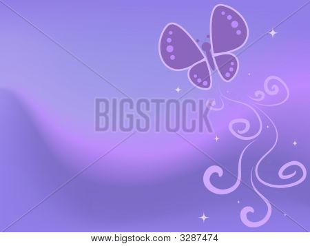 Butterfly Pastel Abstract