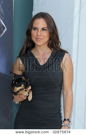 LOS ANGELES - MAY 10:  Kate del Castillo at the PETA Billboard