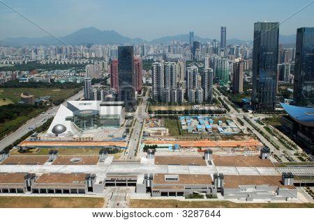 Shenzhen Futian, chinesische moderne Stadt