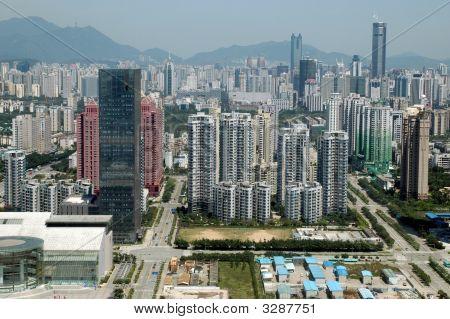 Shenzhen City allgemeine Ansicht