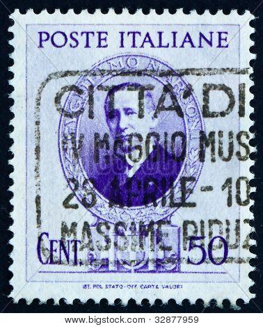 Postage stamp Italy 1938 Guglielmo Marconi