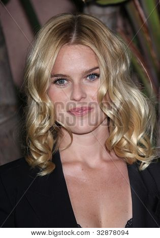 LOS ANGELES - DEC 01:  Alice Eve arrives to the Beat The Odds Award 2011  on December 01, 2011 in.Beverly Hills, CA.