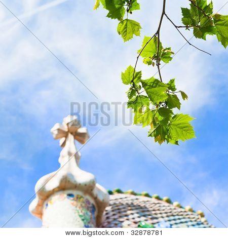 Green Leafs And Casa Batllo, Barcelona