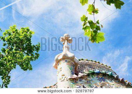 Roof Of Casa Batllo, Barcelona