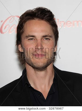 LAS VEGAS - APR 26:  TAYLOR KITSCH arrives afor the Cinema Con 2012-Final Night Awards  on April 26, 2012 in Las Vegas, NV
