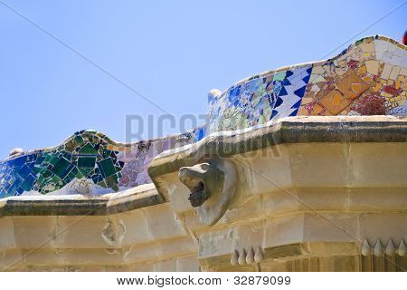 Architectural Elements In Park Guell