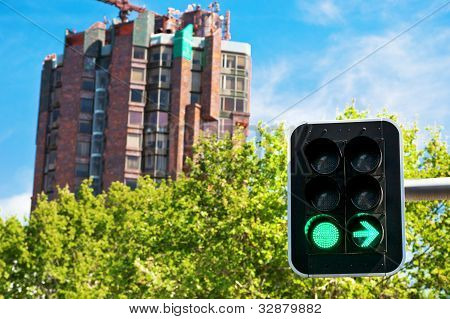 Building Construction And Green Light