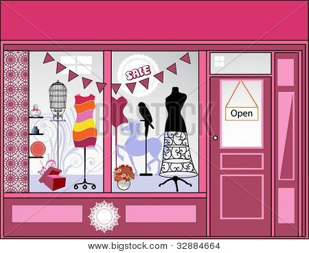 Storefront - lots of different elements