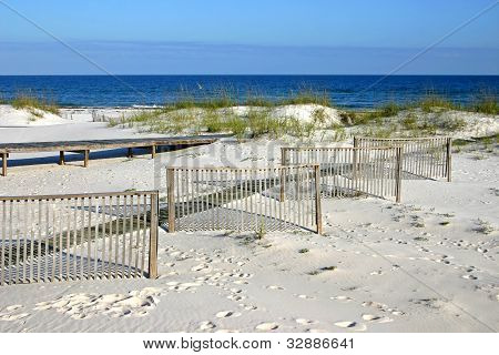 Fences in the Sand