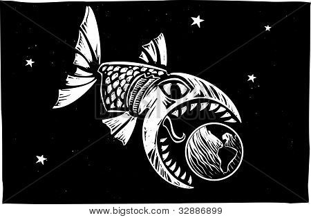 Fish Eating Earth