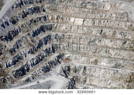 Abestos mine,
