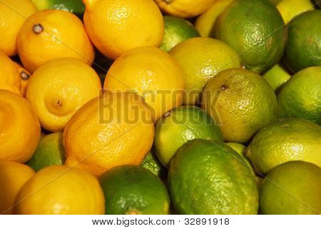 Fresh Sweet limon and lime