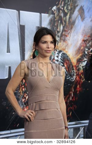 LOS ANGELES - MAY 10: Lauren Sanchez at the premiere of Universal Pictures' 'Battleship' at The Nokia Theater L.A. Live on May 10, 2012 in Los Angeles, California