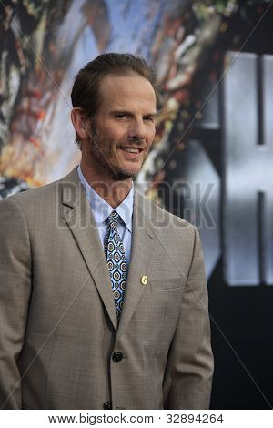 LOS ANGELES - MAY 10: Peter Berg at the premiere of Universal Pictures' 'Battleship' at The Nokia Theater L.A. Live on May 10, 2012 in Los Angeles, California