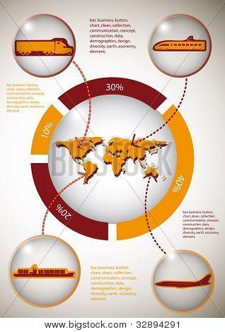Transportation infographics