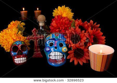 Dia De Los Muertos (day Of The Dead) Alter