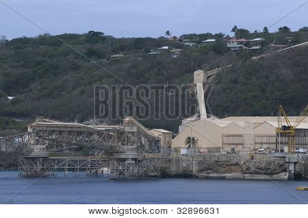 Phosphate Factory in Christmas Island