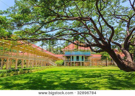 Mrigadayavan,thai Royal Summer Palace,hua Hin,thailand