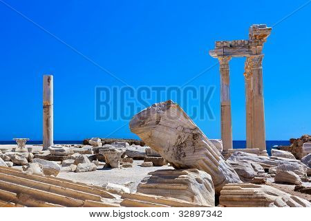 Old Ruins In Side, Turkey
