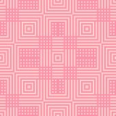 Vector Geometric Lines Seamless Pattern. Modern Texture With Squares, Stripes, Intersecting Lines, C poster