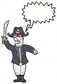 Постер, плакат: мультфильм ожесточенные пиратский капитан
