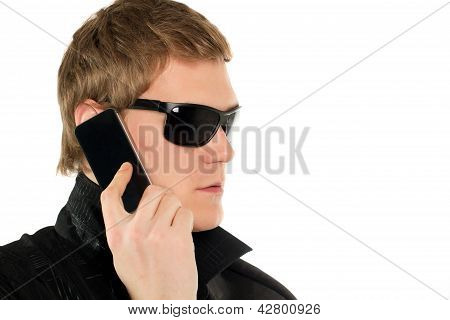 Young Man With A Phone