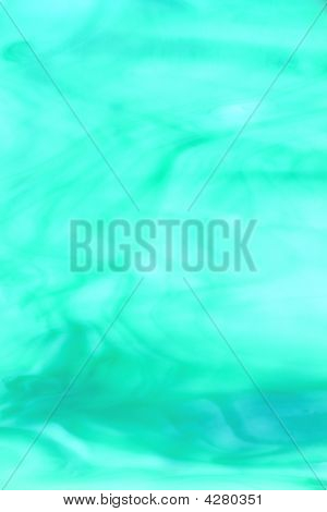 Turquoise Stained Glass Background