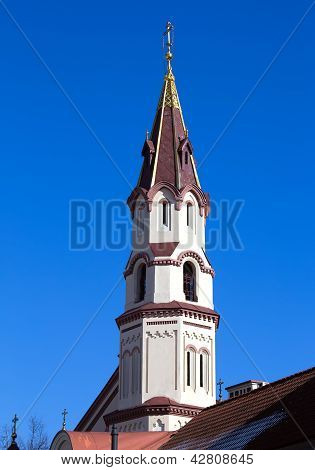 Saint  Nicholas Orthodox Church Steeple