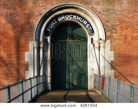 Victorian Fort Brockhurst Main Gate (over Bridge)