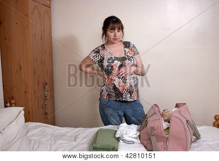 A Pregnant Young Woman