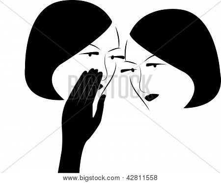 gossip girls vector
