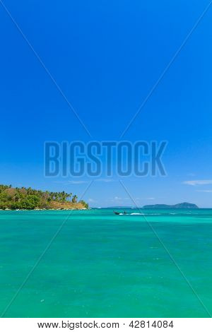 Exotic Bay in Rawai beach Phuket island Thailand