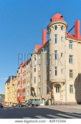 Jugendstil Architecture In Katajanokka, Helsinki