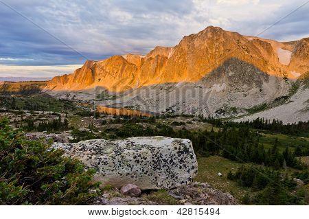 Snow Range Alpenglow