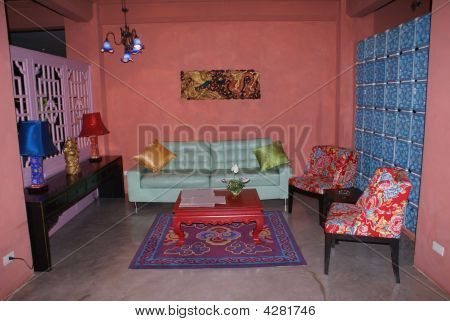Interior Of A Sitting Room