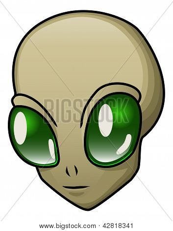 Alien Illustration