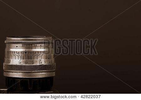Vintage russian lens details