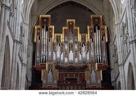Organ In Almudena Cathedral