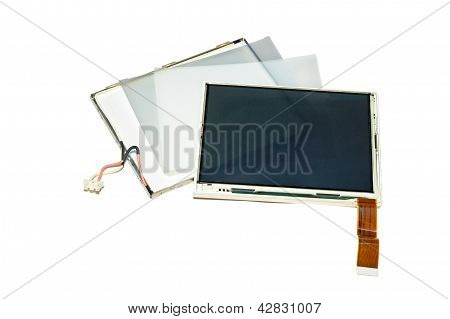 Disassembled Lcd.