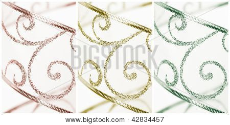 Background Pattern And Texture Triptych