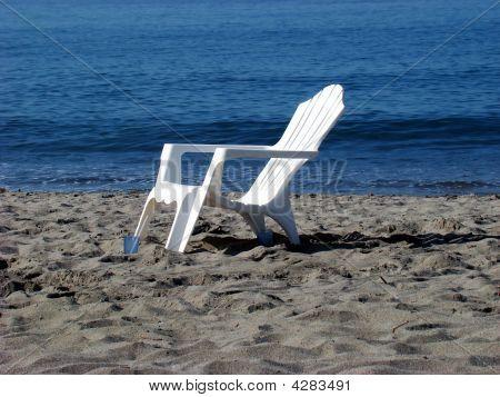 Beach Chair, Pacific Ocean.