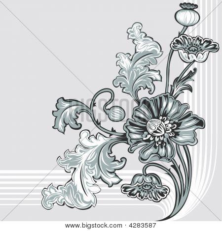 Poppy Flower Decoration
