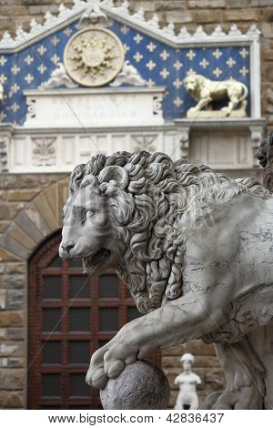 Lion in Florence