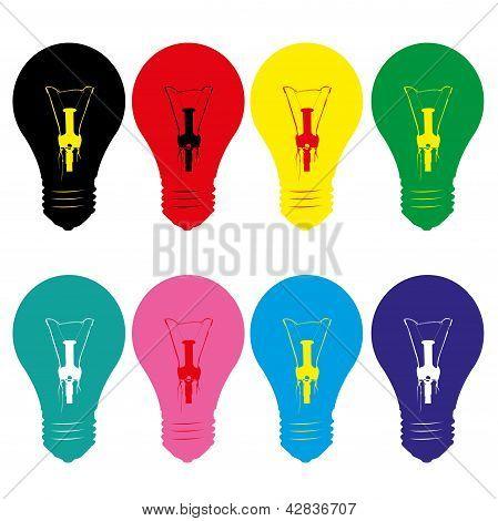 Light Bulb Style Vector.eps