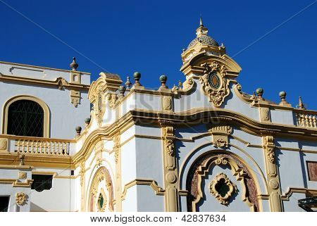 Lope de Vega theatre, Seville, Andalusia.